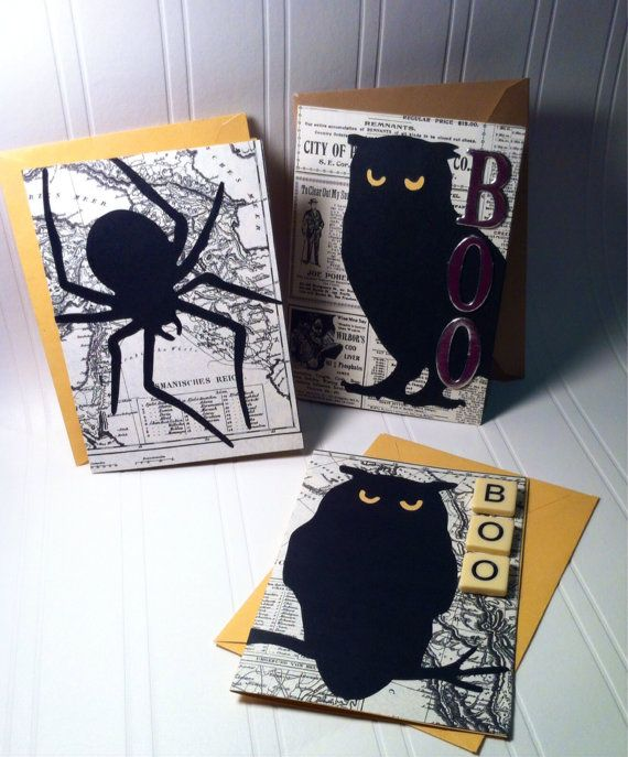 40 handmade halloween cards party invitations - Homemade Halloween Party Invitations