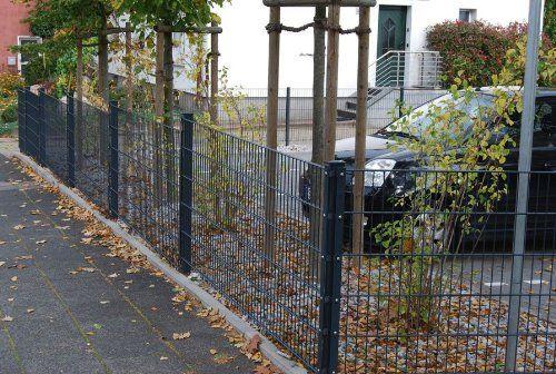 25m 83cm Höhe Doppelstabmattenzaun, Gartenzaun, Zaun, Metallzaun - gartenzaun modern metall