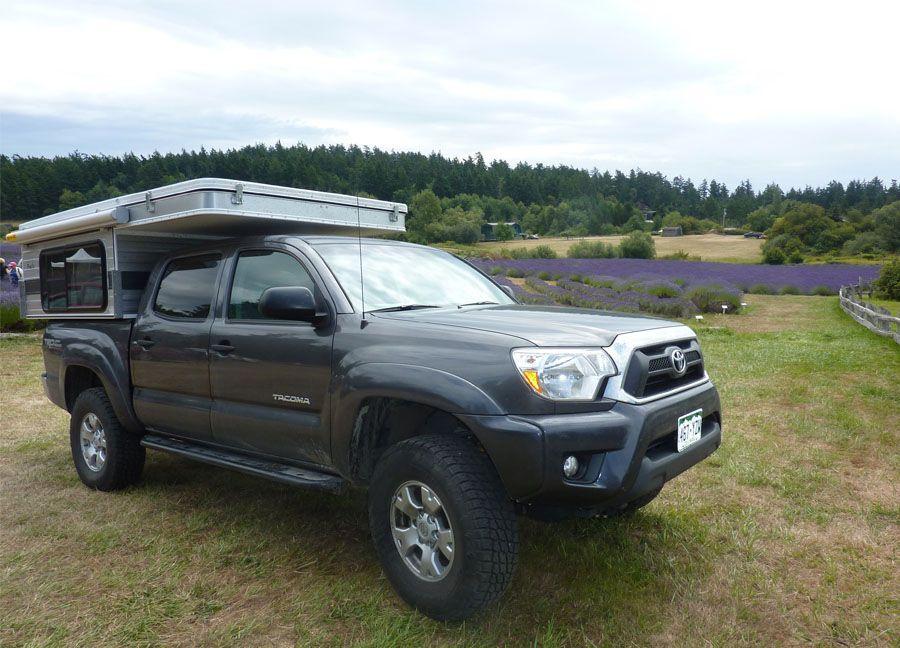 SWIFT POPUP (SHORTER 5.0′ BED) Truck camper, Cabover