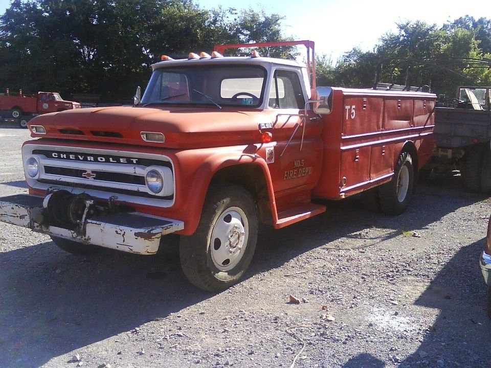1966 C60 Chevrolet For Sale in Texas Fire trucks