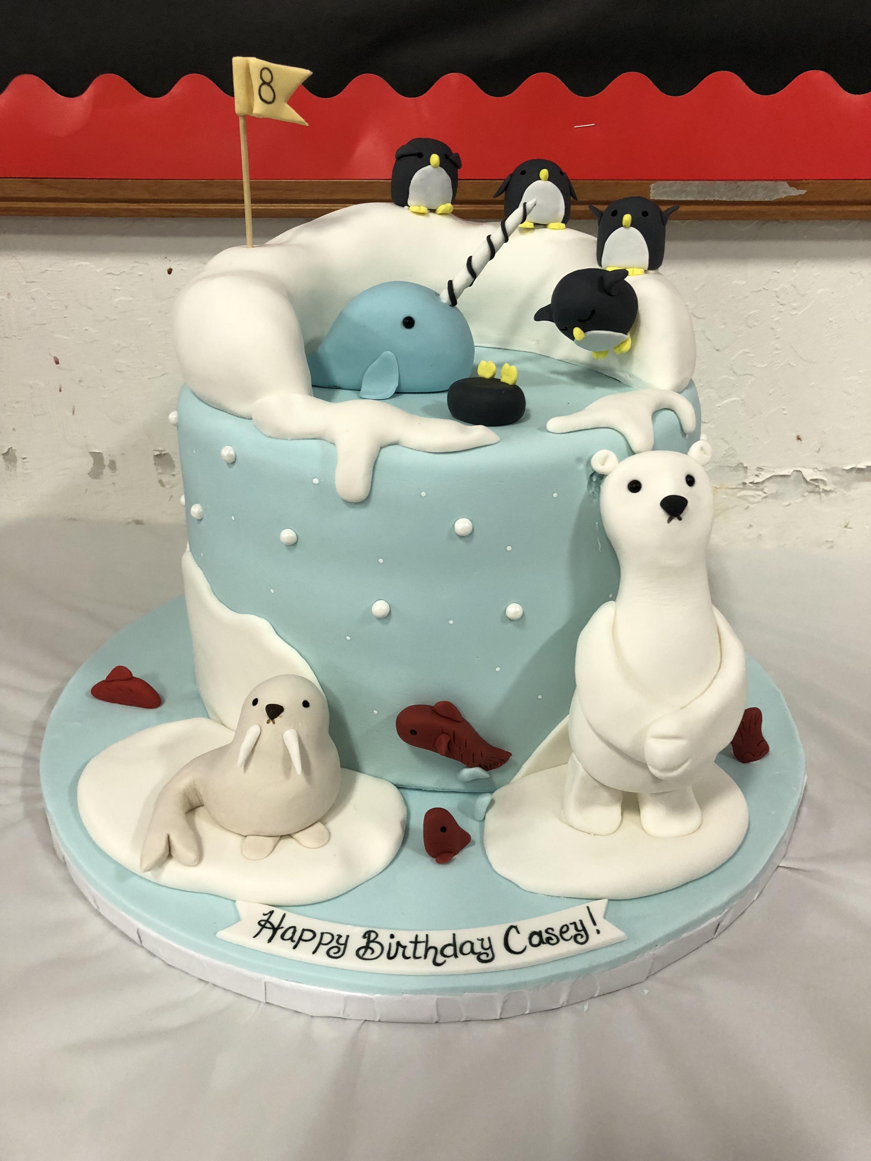 Narwhal Cake Cake Contest Ideas Pinterest Cake Birthday Cake