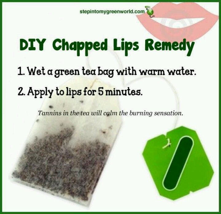 Good To Know Chapped Lips Remedy