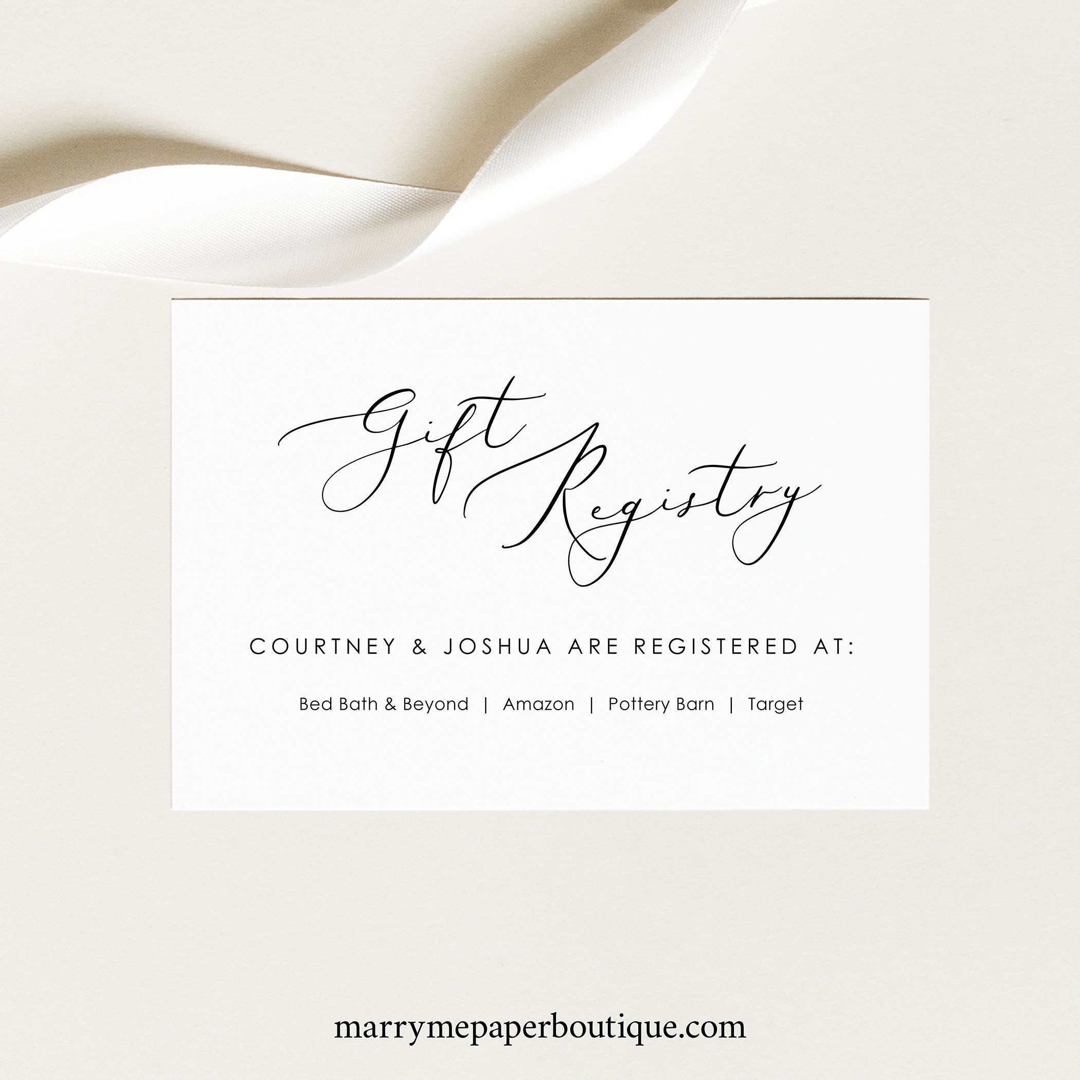 Editable Free Printable Baby Registry Cards Baby Registry Cards Baby Gift Registry Cards Registry Cards