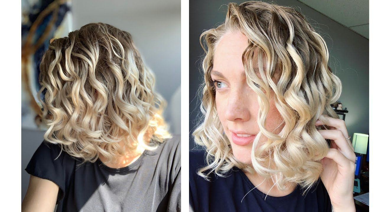 How to sleep with curlywavy hair wrapping with a silk