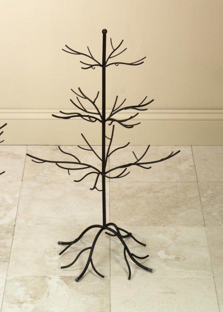 Amazon Com Small Metal Bare Tree Silhouette Rustic Ornament Display 3 Tier Branches 27 Inch Home Ki Metal Ornament Tree Ornament Tree Display Metal Tree