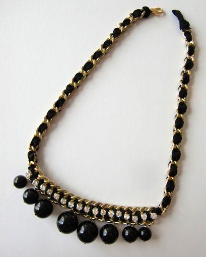 9caa6365cb89 Como hacer un collar de bisuteria paso a paso.