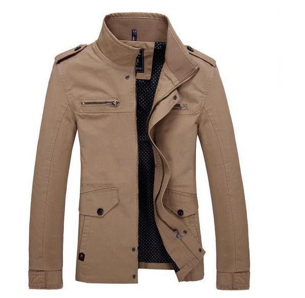 Dans 2015 Mode 4xl Manteau Veste M Taille Grande Hommes Hot Casual vOwvqfT