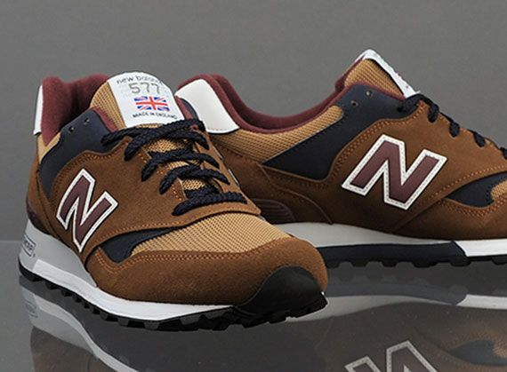 New Balance 577 - Brown - Burgundy - Navy