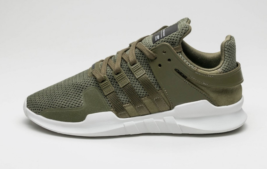 5734e653a73 The adidas EQT Support ADV In Olive Cargo Is Perfect For Fall