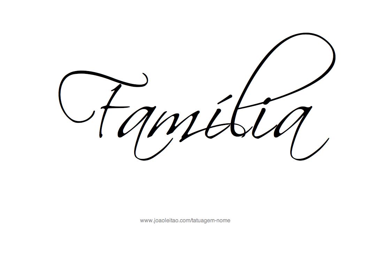 Frases De Família Para Tatuagem Tatuagens Masculinas