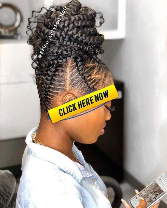 23 Braided Bun Hairstyles for Black Hair | StayGlam #bunshairstylesforblackwomen 23 Braided Bun Hairstyles for Black Hair | StayGlam #bunshairstylesforblackwomen