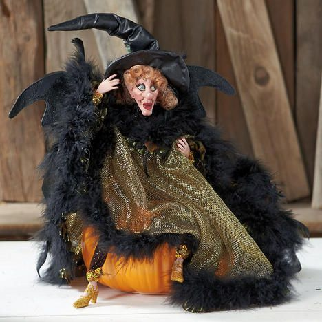 Mark Roberts Eerie Gold Night Witch