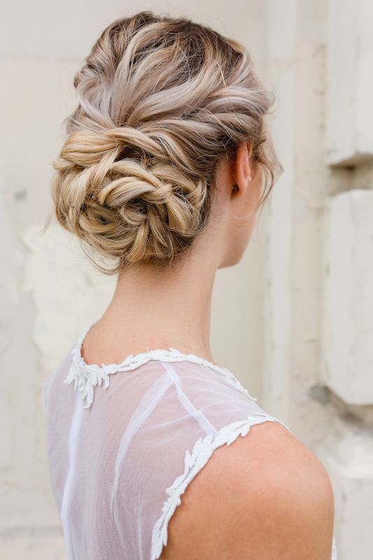 Updo Hairstyle , Wedding Hair , Braut Frisur ...