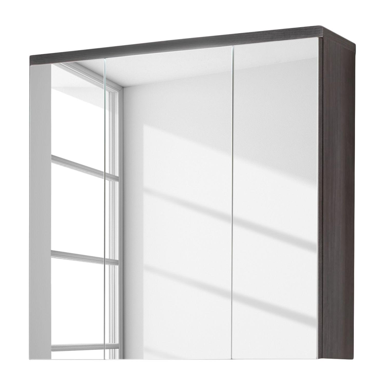 Brilliant Spiegelschrank Ohne Beleuchtung Galerie Von Adamo I - - Eiche Rauchsilber Dekor