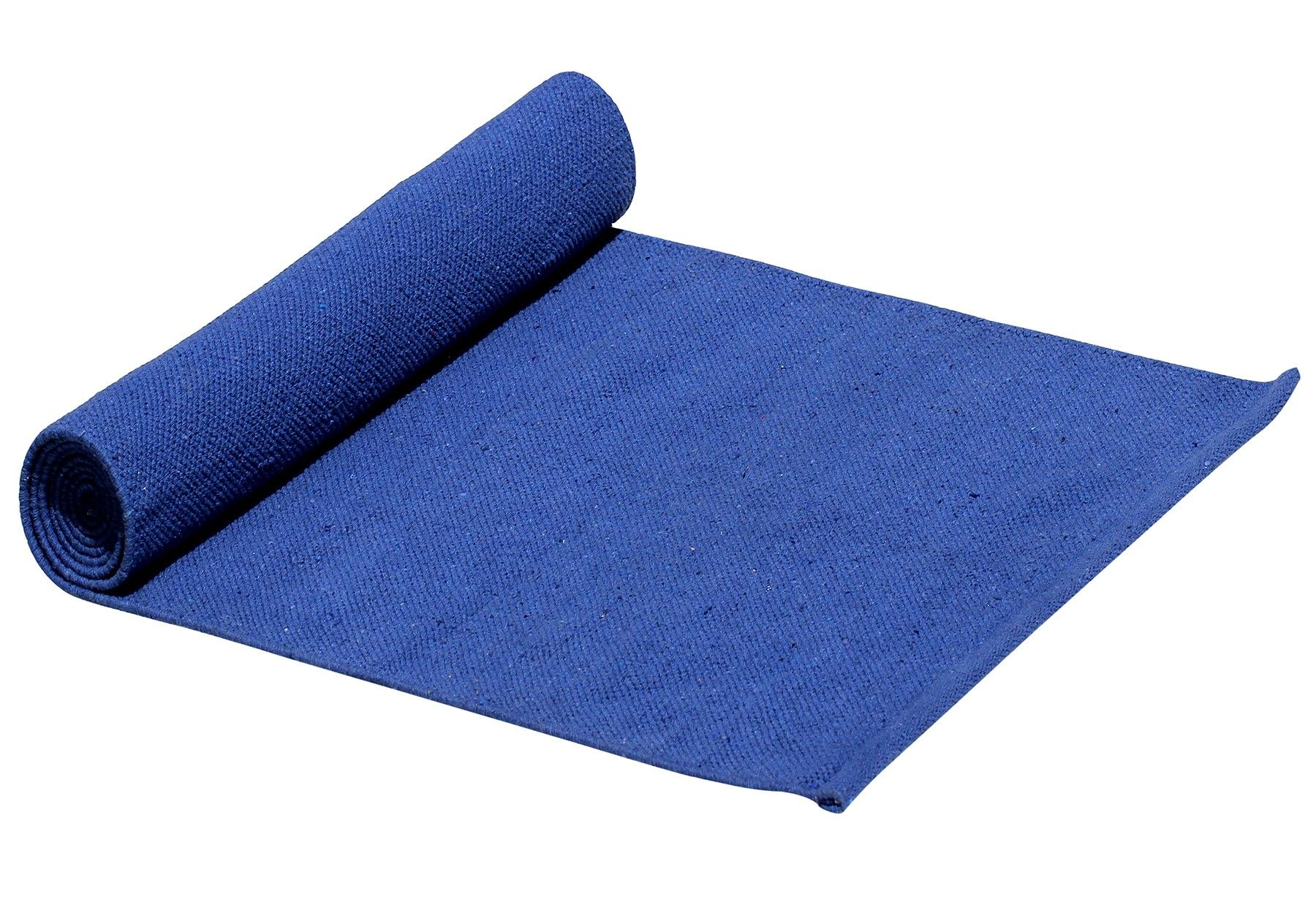 Being Fit Handmade Extra Long 6 X 2 2 Ft 72x26 Inch Cotton Yoga Mat In Blue Color Jute Travel Bag Yoga Supplies Yoga Mat Wholesale Accessories