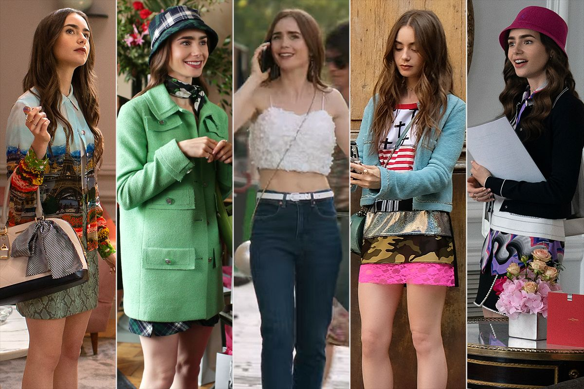 The Emily in Paris Outfits We're Still Thinking Ab