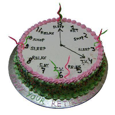Retirement Cakes For Men
