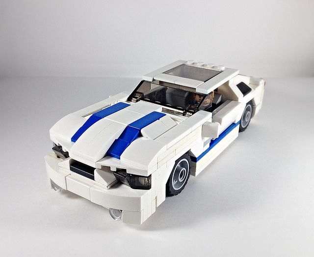 2012 Ford Mustang Shelby Gt500 Lego Wheels Lego Cars Mustang