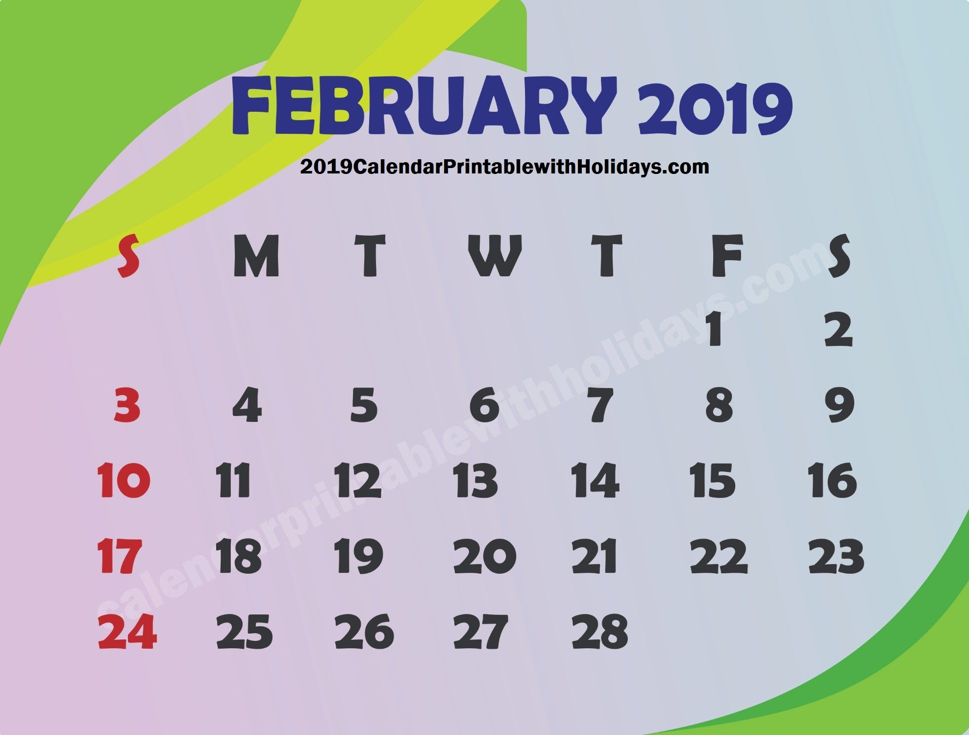 Wcalendar Of Events Dc February 17, 2019 Pin by 2019Calendarprintabletemplate on February 2019 Calendar
