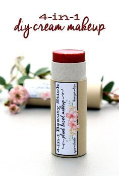 Photo of Plant Based Makeup: DIY Rose Scented 4-in-1 All Over Cream Beauty Stick – Soap Deli News