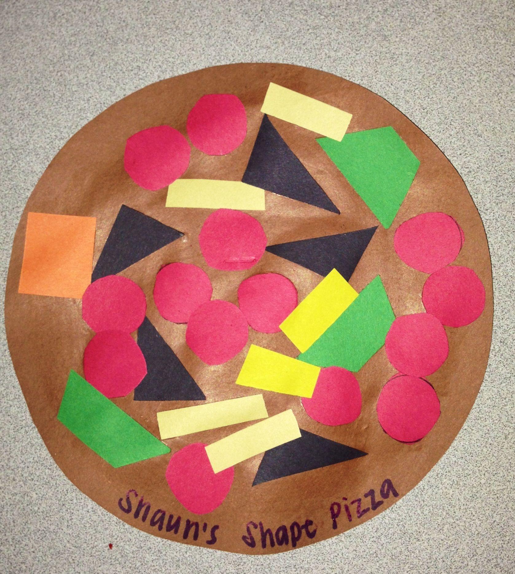 Kindergarten Shape Pizzacraft