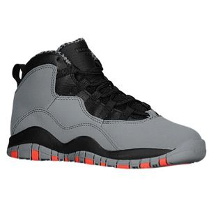 online retailer f3f57 3e184 Jordan Retro 10 - Boys' Preschool - Cool Grey/Infrared 23 ...