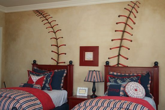 Kids Room: Baseball Kids Room Decoration 2016 Baseball Theme Boyu0027s Room  Baseball Kids Room Two Bed Baseball Kids Furniture Baseball Kids Room Ideas  Baseball ...