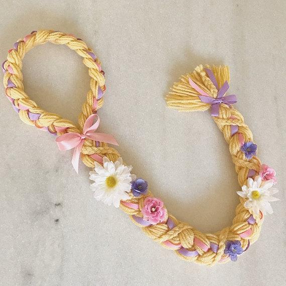 rapunzel braid rapunzel costume hair for dress up. Black Bedroom Furniture Sets. Home Design Ideas