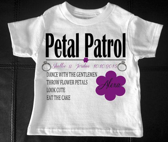 Petal Patrol Shirt Flower Girl Outfit Flower Girl Unicorn Shirt Unicorn Flower Girl Shirt Flower Girl Gift Petal Patrol Shirt Petal Patrol