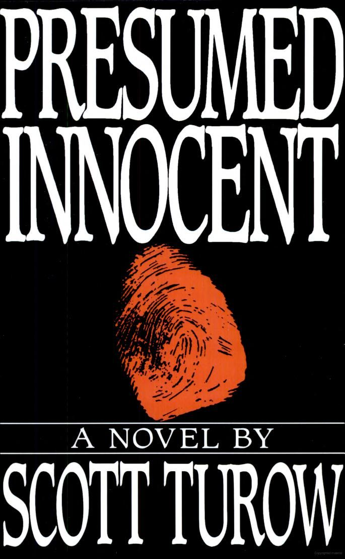 Presumed Innocent - Scott Turow Great Reads Pinterest - presumed innocent