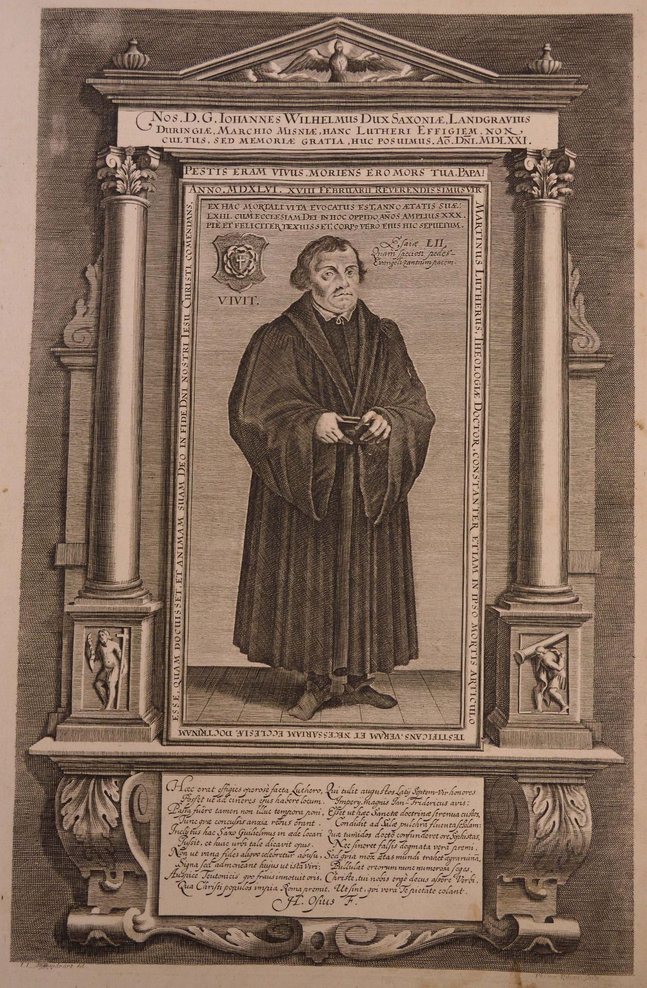 Dr Martin Luther Revered For His Role In The Protestant