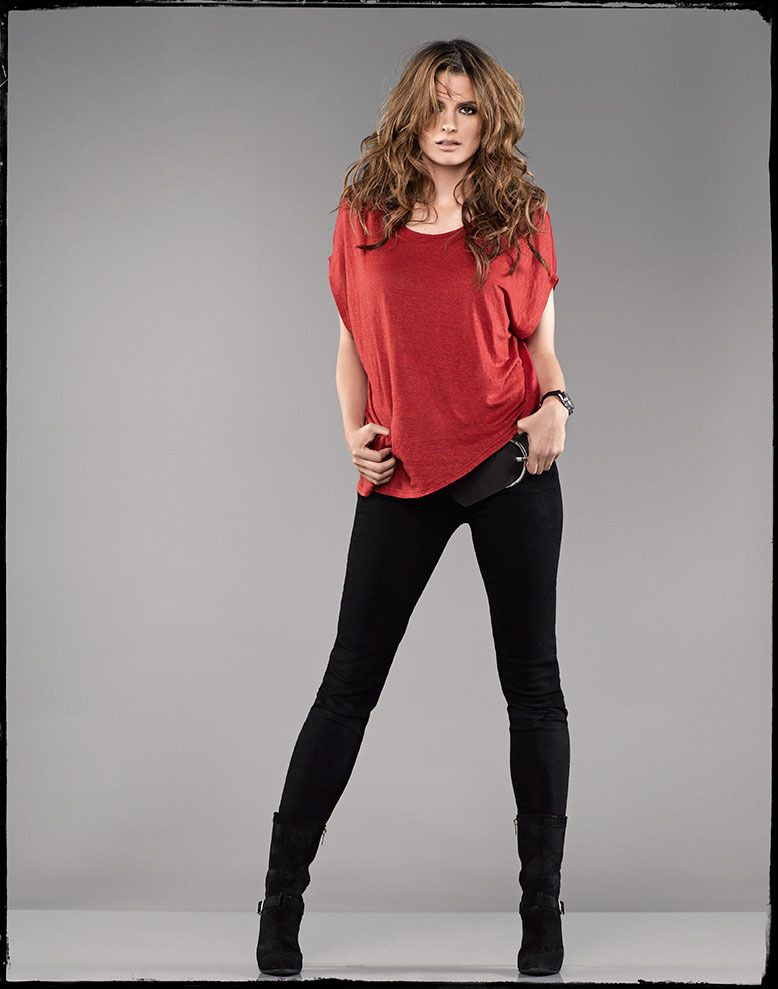 Castle Limited Edition Print - Stana Katic. dang~can i have her hair,outfit, and body too?