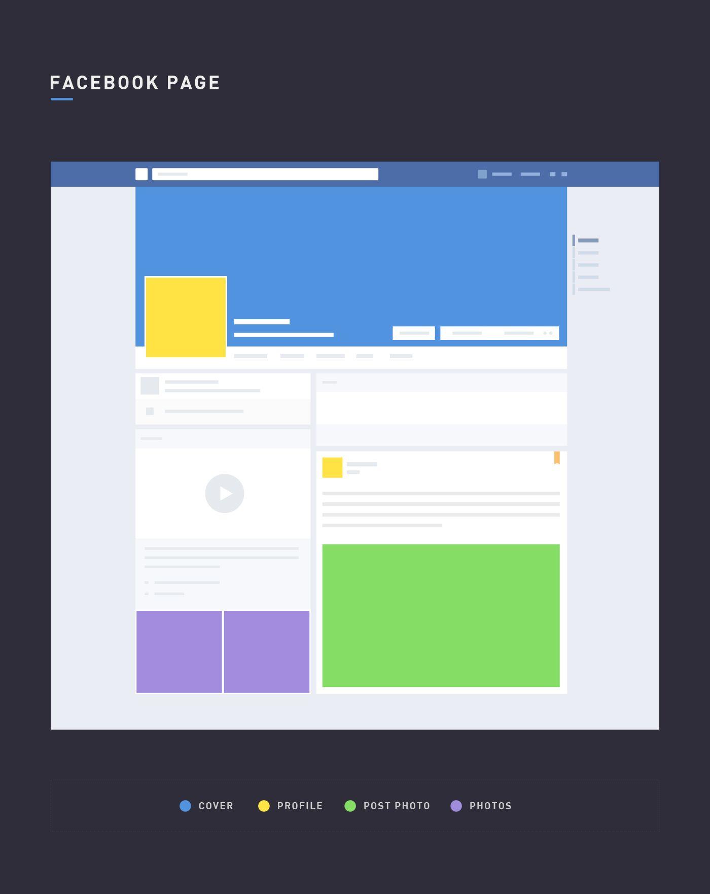 Free Facebook Page Mockup | Graphics | Pinterest | Design elements ...