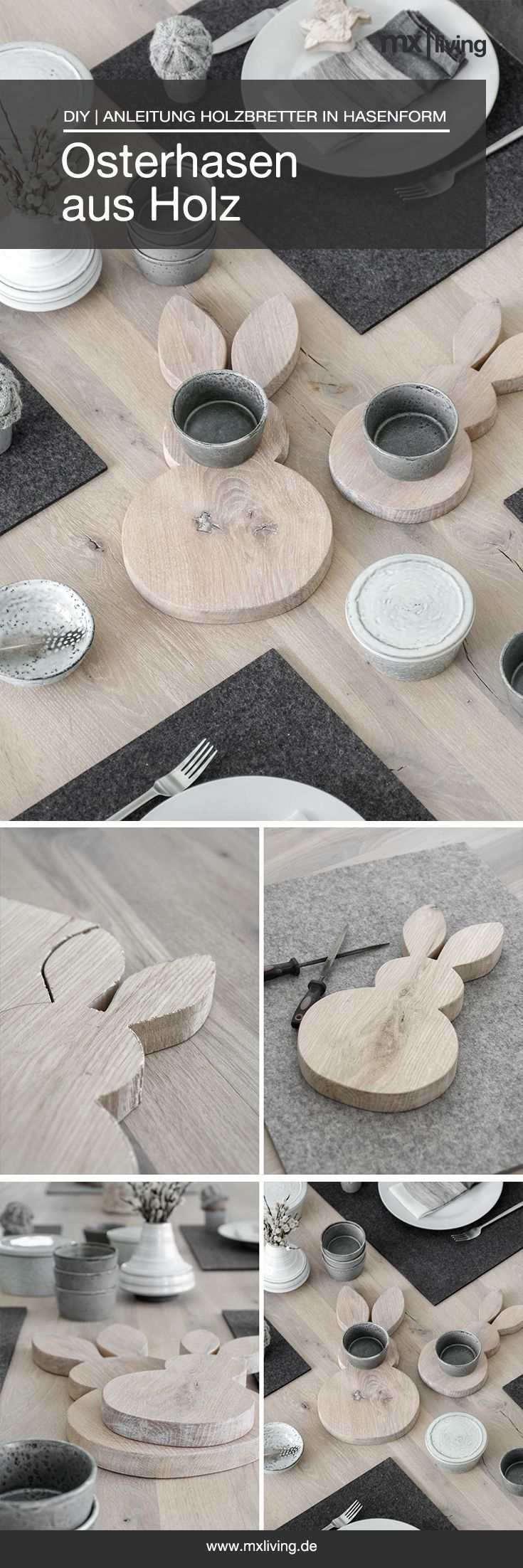 Photo of DIY | Easter bunnies made of wood – mxliving