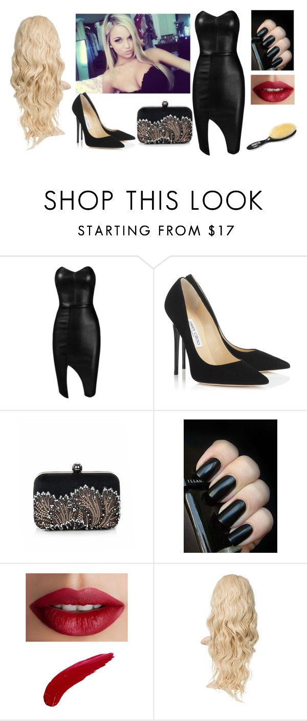 """""""Untitled #1726"""" by crazygirlandproud ❤ liked on Polyvore featuring Jimmy Choo, TheBalm, women's clothing, women's fashion, women, female, woman, misses and juniors"""