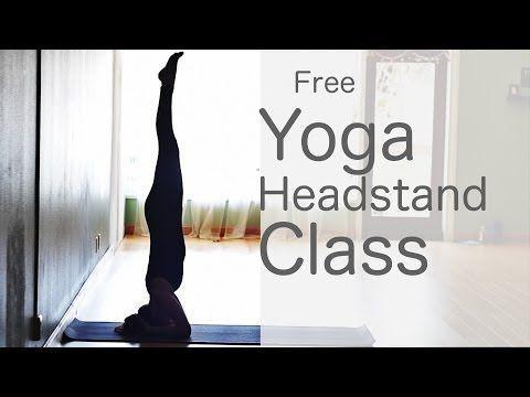 how to do a headstand vinyasa flow yoga class free yoga