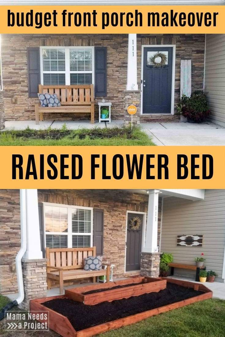 Photo of Raised Flower Bed for the Front of the House