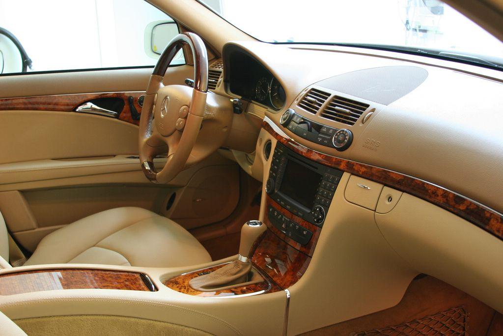 Interior W211 Mercedes Benz Mercedes Benz E63 Benz E