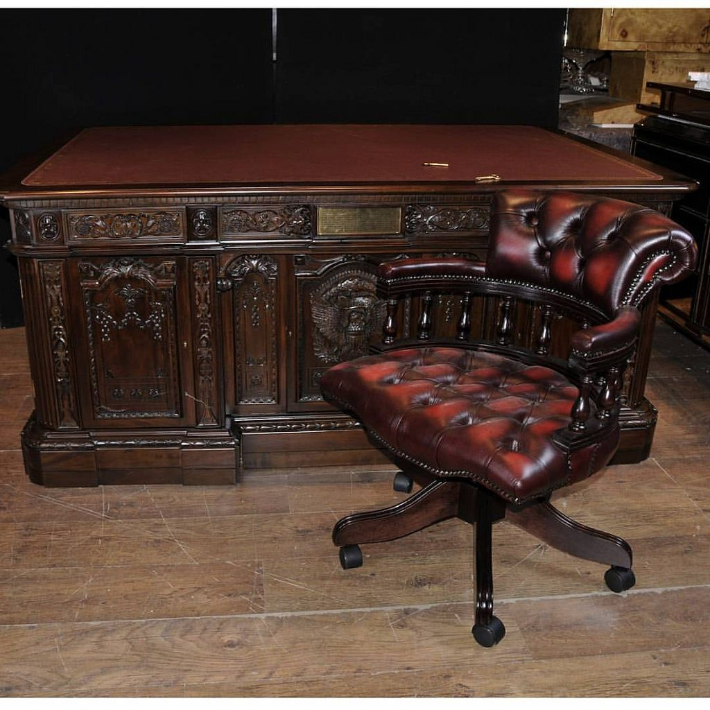 white house oval office desk. American Presidents Desk - Exact Replica Of Found In The Oval Office At White House. Originally A Gift From Queen England And Made House