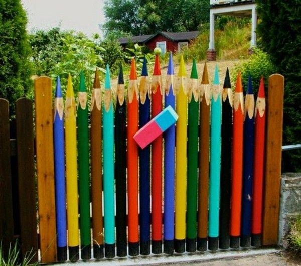 Kreative Gartenzaun Ideen! - Archzine.net