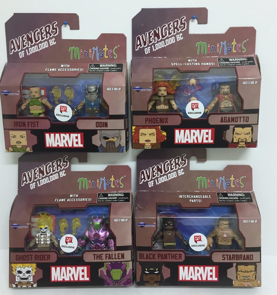 Minimates Marvel Avengers 1,000,000 BC Ghost Rider The Fallen Diamond Select