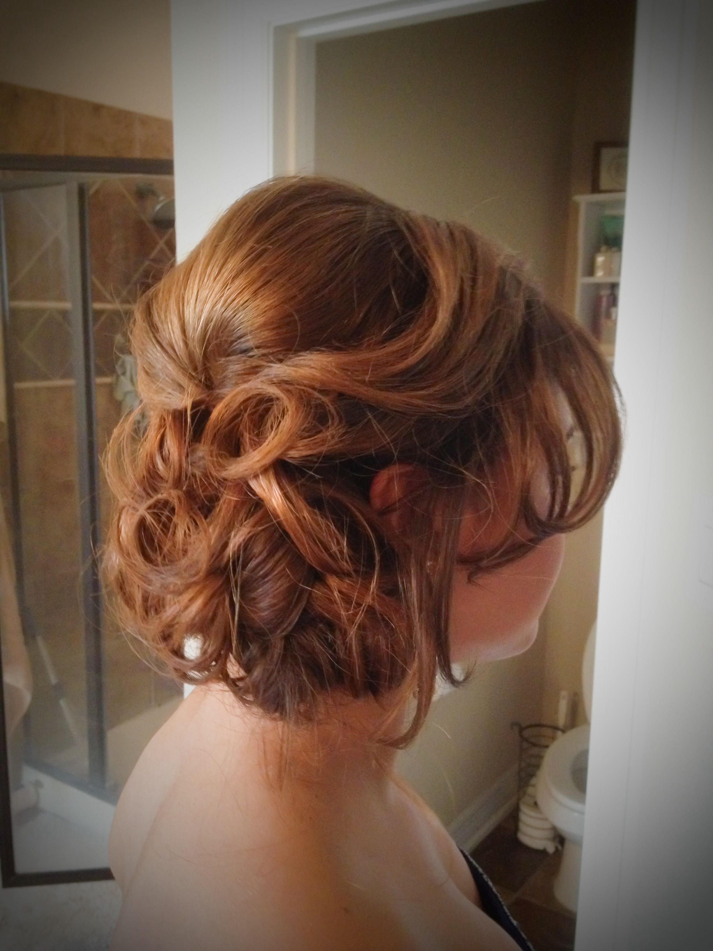 Bridal Updo Prom Updo Www Knotandveil Wordpress Com San Antonio Tx Hair Makeup Bridal Updo Hair Styles