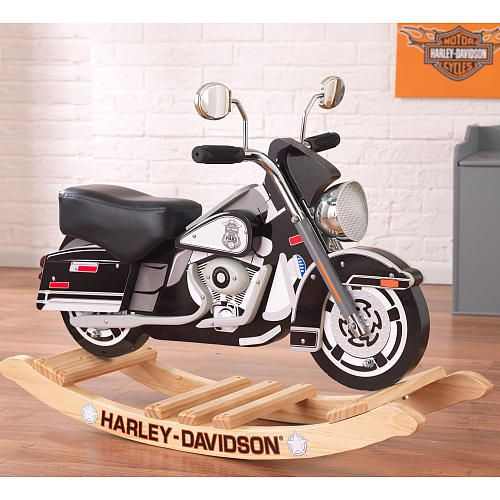 The Kidkraft Harley Davidson Roaring Police Rocker Plays Realistic  Motorcycle Sounds Kids Will ...