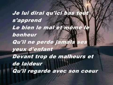 Celine Dion Je Lui Dirai Lyrics Celine Dion French Songs Celine