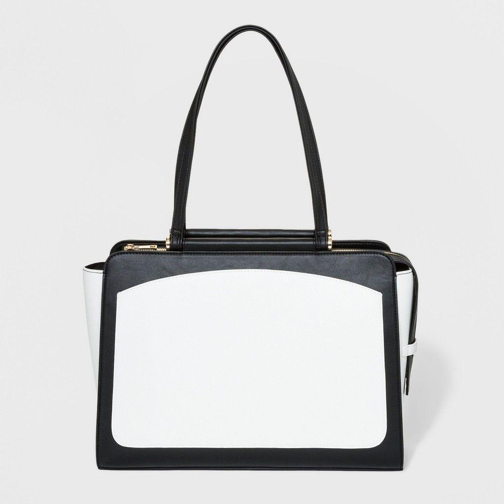 d716fc7174 Dowel Tote Handbag - A New Day Black