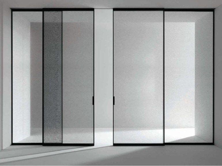 Pared móvil / puerta de tela PAVILION MINIMAL Colección Pavilion ...