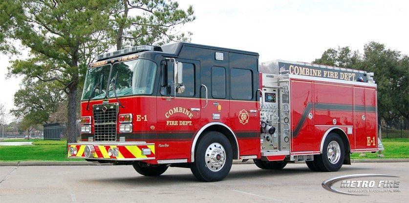 Combine fire department dallas fortworth area