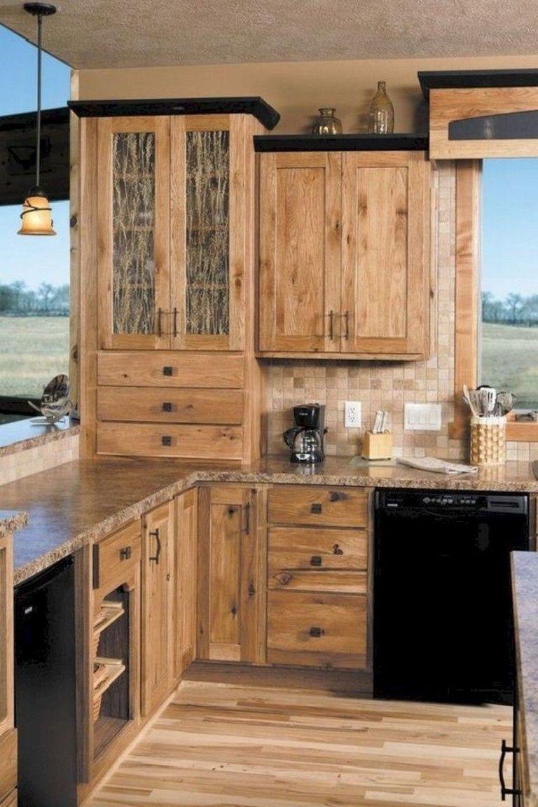 85 Luxury Kitchen Cabinets Design And Decor Ideas Kitchendesign Kitchenremodel Affordable Farmhouse Kitchen Kitchen Cabinet Styles Rustic Farmhouse Kitchen