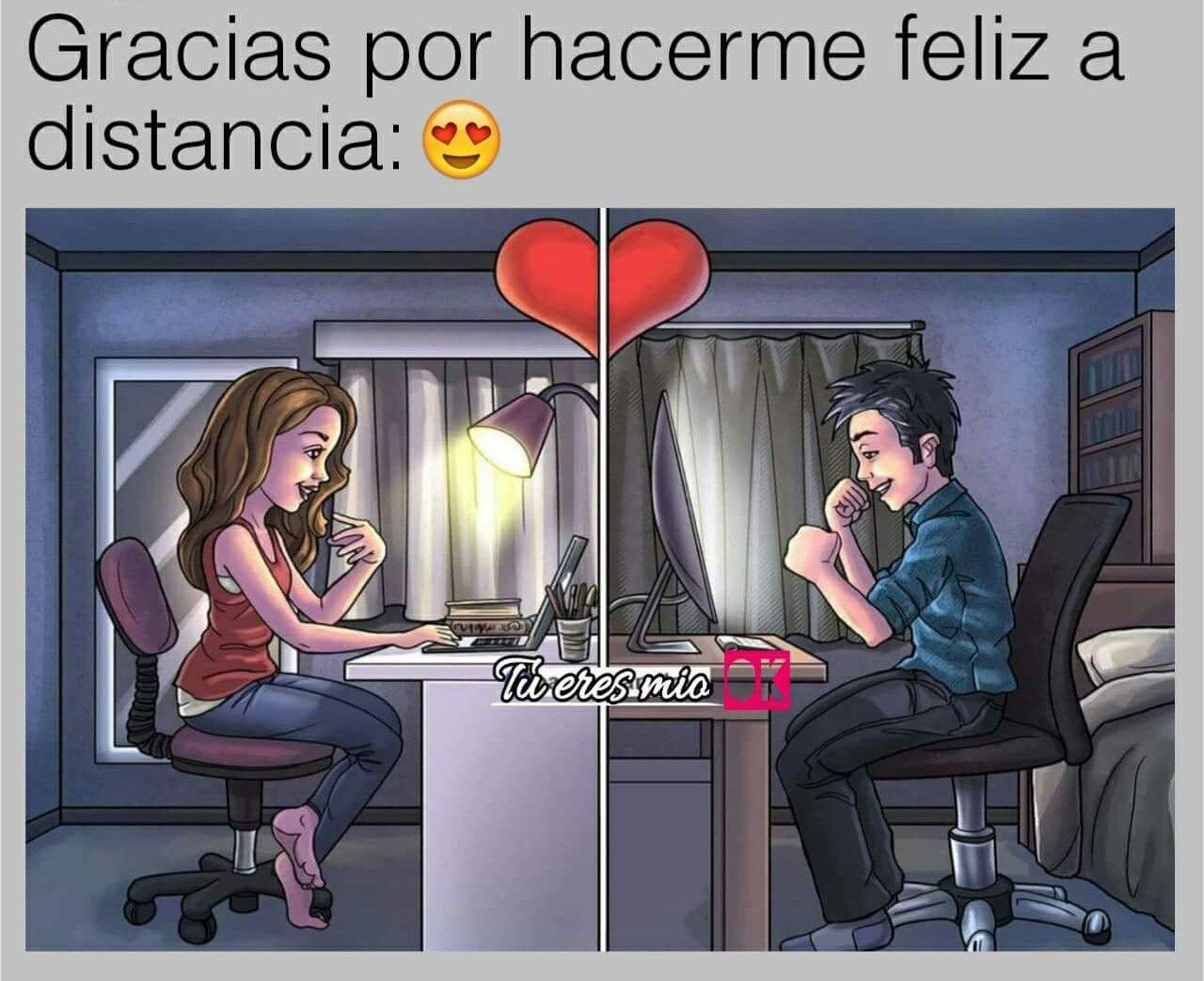 Muchisimas Gracias Mi Amor Amor A Distancia Citas De Relacion A Distancia Relaciones A Larga Distancia