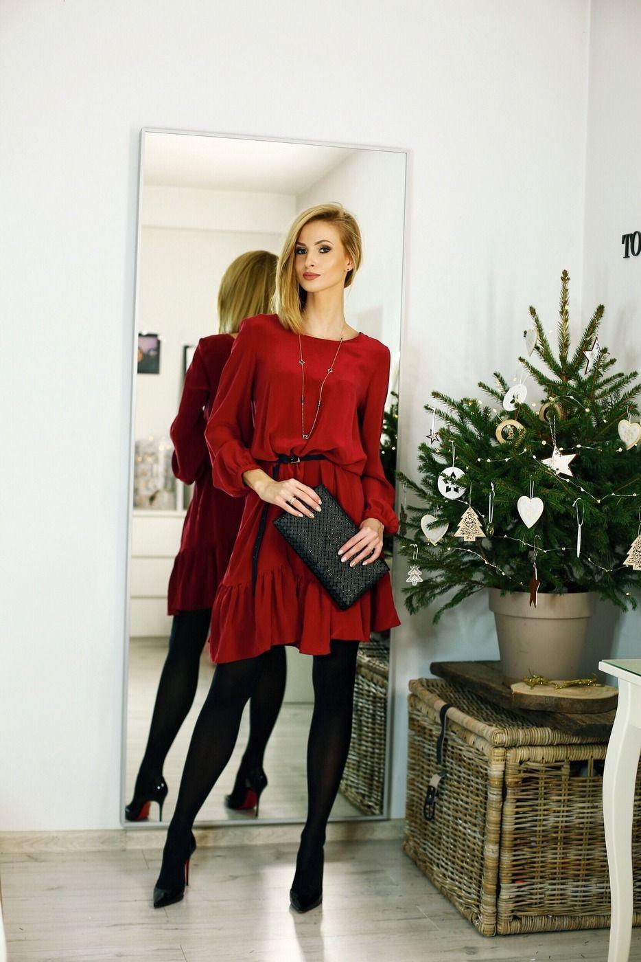 5 Stylizacji Na Wigilijna Kolacje I Swieta Beauty Fashion Shopping Cozy Fashion Holiday Outfits Fashion